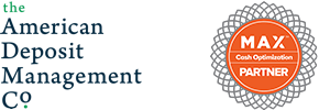 The American Deposit Management Co. Logo